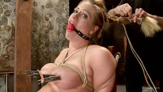 pretty blonde punished and humiliated