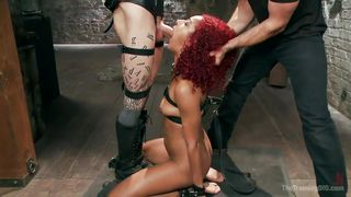 sex master makes redheaded beauty more obedient