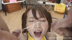 cum glazed asian schoolgirl