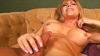 baldy sucks tranny cock @ transsexual gag hags #02