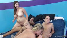 cum addicted whores in an orgy