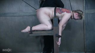 tied up babe gets humiliated
