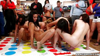 inviting you to our nude twister party
