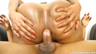 horny shemale gets laid