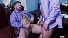colby and zachary fuck after office