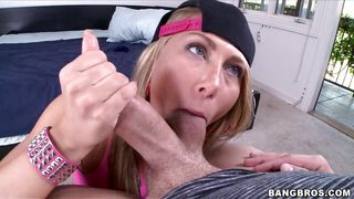 swag girl sucks my cock