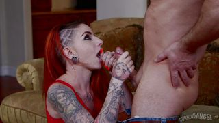 bad girl sheena handling a horny cock