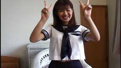 japanese schoolgirl spreads her legs