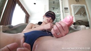 blindfolded and pleasured