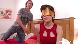 bella beretta has her pussy trashed while her husband watches