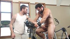 a kinky workout for this gay slave