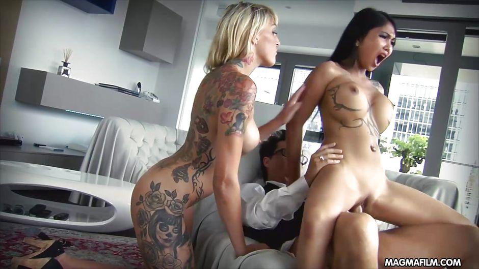 Busty German Lesbians