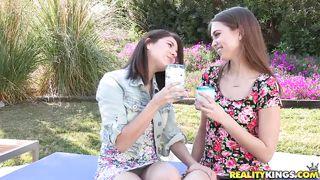nice girls enjoy living together