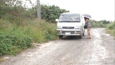 hot japanese cunt hitchhikes