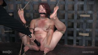 redhead is bound and tortured in humiliating manner