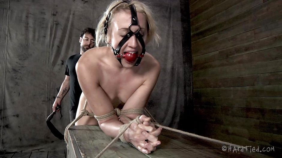 image Blondie ball gagged and doggytied in platform heels fucked hard by isis pt1