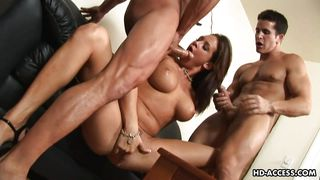 hardcore threesome with tory lane