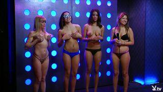 topless playboy models having fun