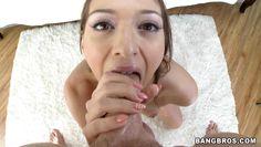 naked brunette needs a big one