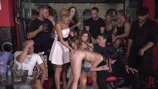 Young Lady Was Humiliated In Public And Fucked