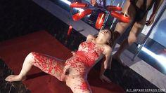 sex slave endures wax pain