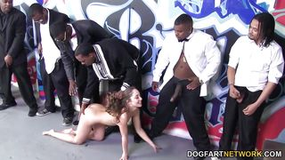 remy lacroix sucks many bbcs for facial