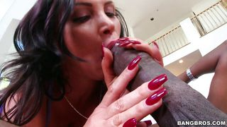 brunette milf wants a monster cock
