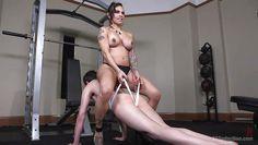 foxxy rides her man hard