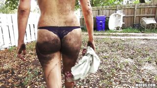getting down and dirty in the outdoors