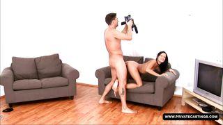 a porn casting for sex star wannabe missy nicole