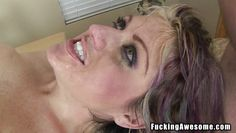 cock addicted blonde mom