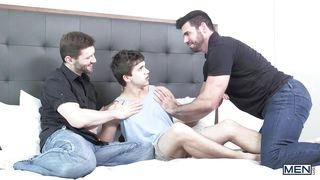 straight boy fucked by two gays