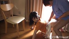 asian beauty gets pleasures for her anus
