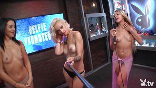 naughty ladies get topless at morning show @ season 16 ep. 752