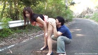 public sex on the roadside