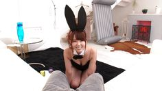 yui is a sexy cosplay bunny