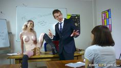 naughty carly gets dirty in classroom