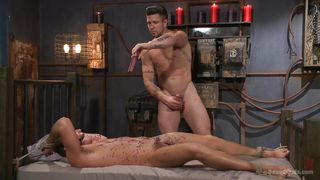 hot wax & a hot gay bdsm