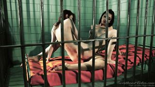 "the old ""hot lesbians in jail"" scene"