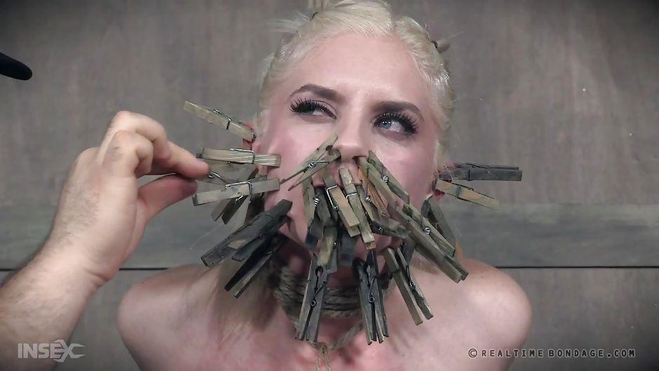Femdom facesitting bondage video