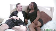 azaria entertaining a white cock