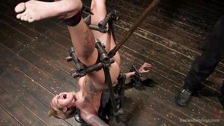 kleio's upside down bondage experience