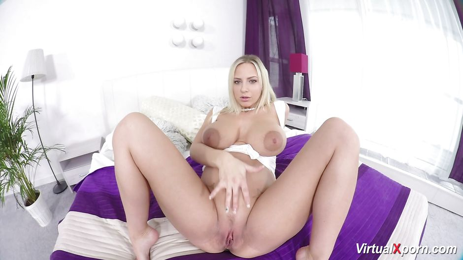 Pregnant virtual reality fuck with nathaly cherie 8