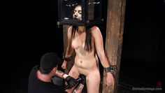 brunette darling gets tortured