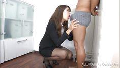 sensual nippon babe at work