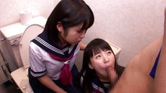 tiny schoolgirl bitches pleasing a cock