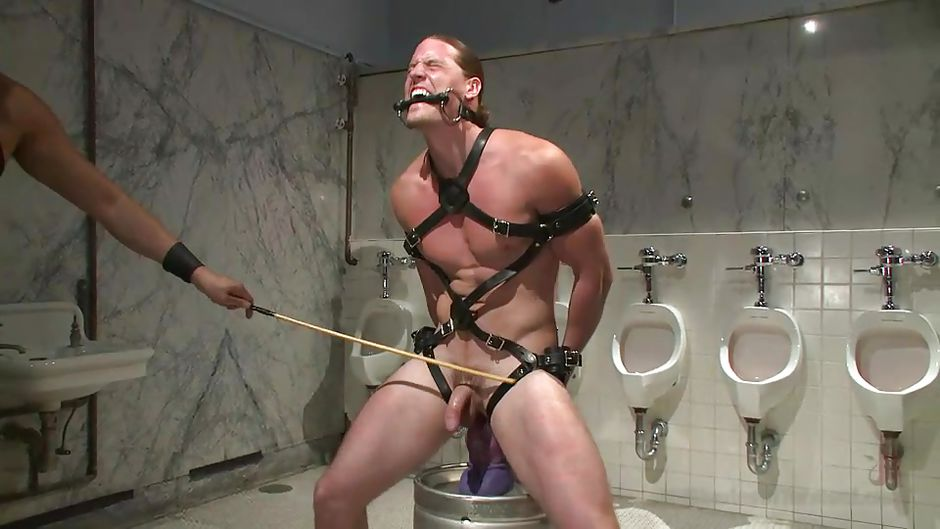 Bearded men tied up and gagged gay first 9