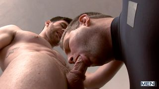gay athletes get it on in the locker-room