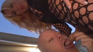 pamela sticks her cock in my face @ she male pov #02