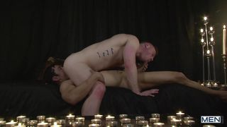 horny gay guys in hot anal action